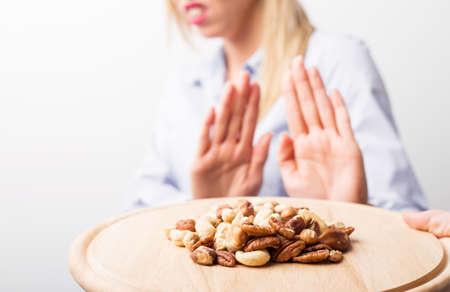 Foto de Nut allergies - Imagen libre de derechos