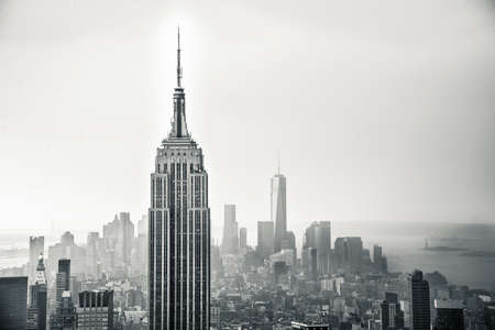 Foto de New York city aerial view - Imagen libre de derechos