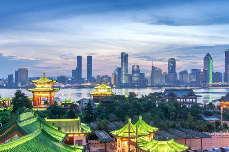 Photo for Aerial view of chinese city,shenzhen - Royalty Free Image