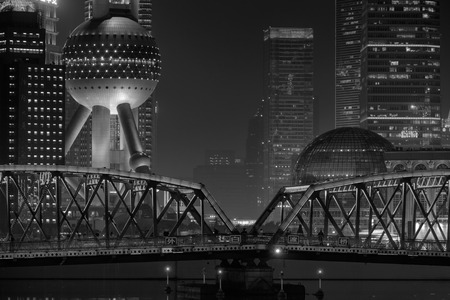 Photo for Shanghai night view - Royalty Free Image