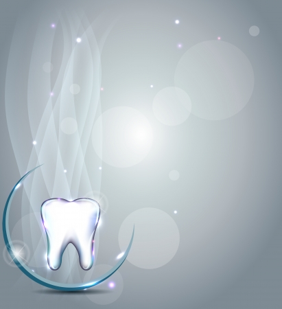 Illustration pour Dental background. Beautiful and bright design. - image libre de droit