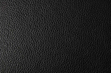black leather texture can be used as background