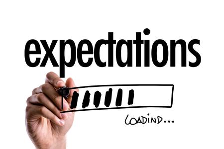 Foto de expectations - Imagen libre de derechos
