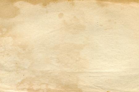 Foto de Texture of an old blank book page - Imagen libre de derechos