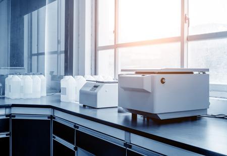 Foto de Centrifuge in the modern medical laboratory - Imagen libre de derechos