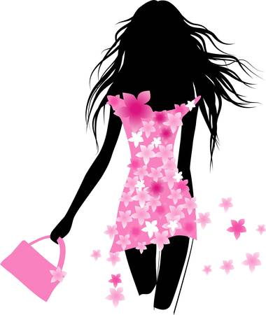 Illustration for Girl fashion - Royalty Free Image