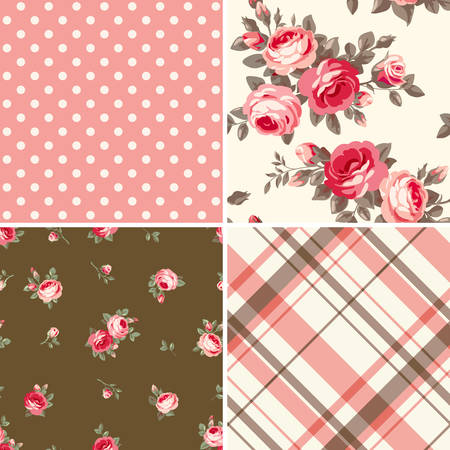 Illustration for Set of patterns - Royalty Free Image