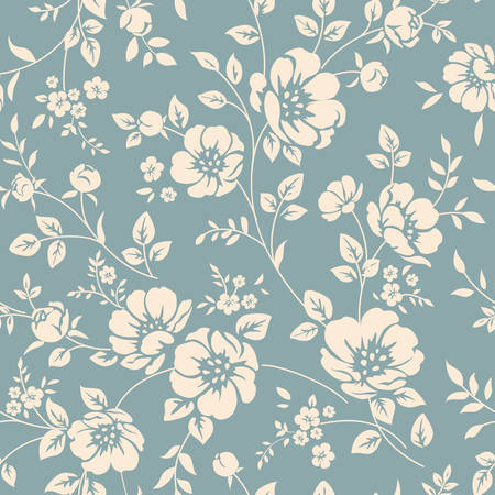 Photo for Seamless floral pattern - Royalty Free Image