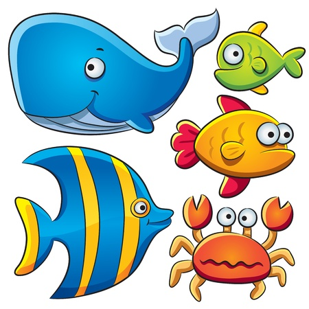 Illustration for Sea Fish Collection - Royalty Free Image