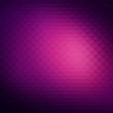 Illustration pour Abstract dark purple background, geometric style design - image libre de droit