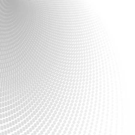 Illustration pour Abstract perspective background with white & gray tones - image libre de droit