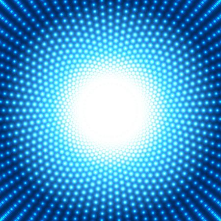 Ilustración de cool blue dotted background - Imagen libre de derechos