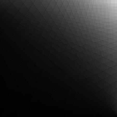 Illustration pour Abstract black dark futuristic background - image libre de droit