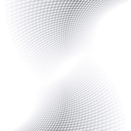 Illustration pour Abstract halftone background with soft grey tones. - image libre de droit