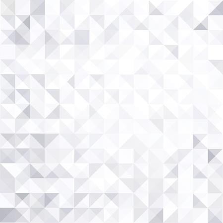 Illustration pour Geometric style abstract white  grey background - image libre de droit