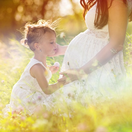 Photo for Pregnant mother - Royalty Free Image