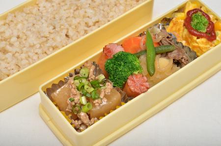 Foto de Delicious Japanese lunch - Imagen libre de derechos