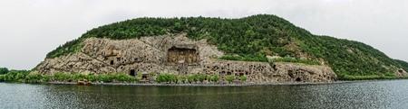 Photo pour Longmen Grottoes, Luoyang, Henan - image libre de droit