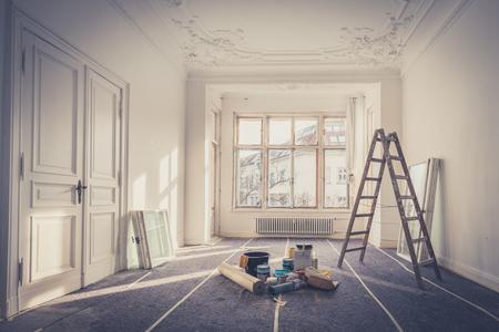 Photo pour renovation - apartment during restoration - image libre de droit