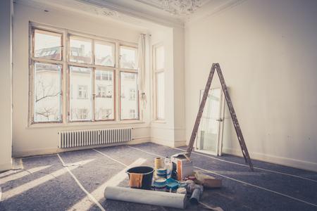 Photo pour renovation concept - room  during restoration  - image libre de droit