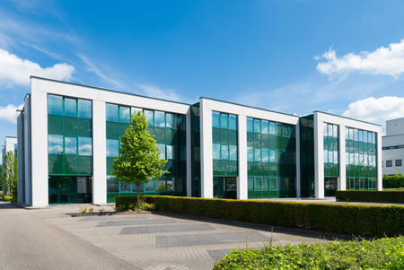 Photo for exterior of a modern office building - Royalty Free Image