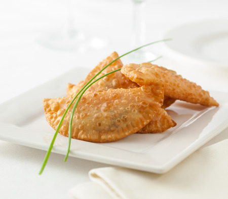 Photo for Empanadas, typical food from Spain and South America - Royalty Free Image