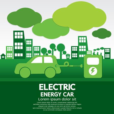Photo pour Electric Energy Car - image libre de droit