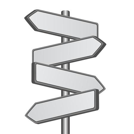 Illustration pour vector direction sign - image libre de droit