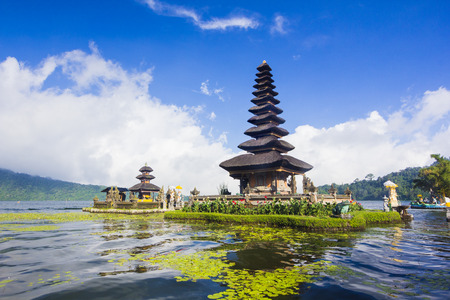 Photo for Pura Ulun Danu temple on a lake Beratan, Bali, Indonesia - Royalty Free Image