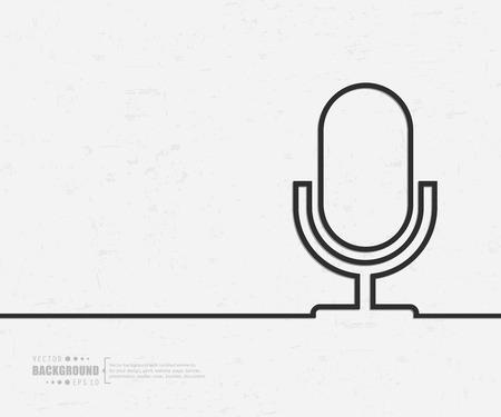 Illustration pour Abstract creative concept background for web and mobile applications - image libre de droit