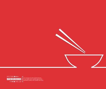 Ilustración de Abstract creative concept vector background for Web and Mobile Applications, Illustration template design, business infographic, page, brochure, banner, presentation, poster, cover, booklet, document. - Imagen libre de derechos