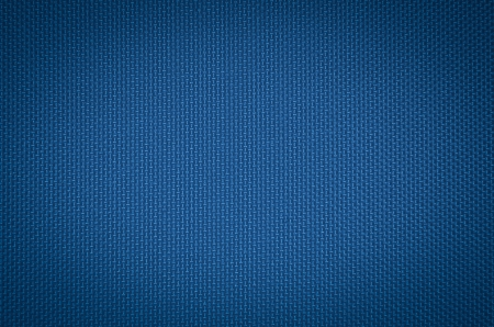 Photo pour blue nylon fabric  texture background. - image libre de droit