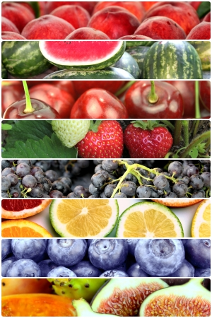 Photo for Fruit banners  - Royalty Free Image