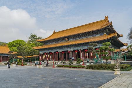 Photo pour New Yuan Ming Palace , zhuhai - image libre de droit