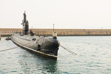 Foto de China, Shandong Province, Qingdao, China Naval Museum - Imagen libre de derechos