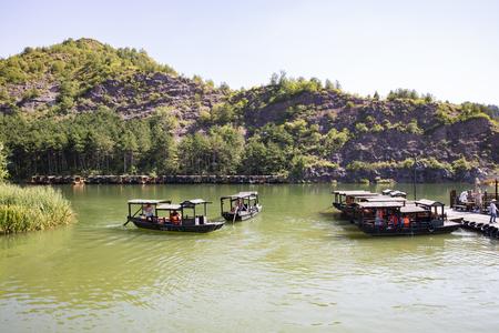 Photo pour Miyun District Gubei Water Town at Beijing, China. - image libre de droit