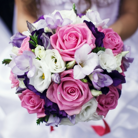 Photo pour Wedding bouquet - image libre de droit