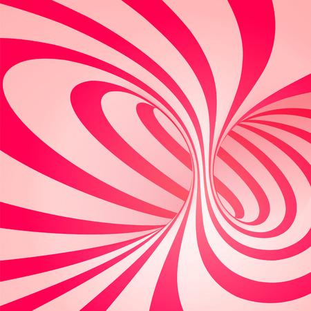 Ilustración de Candy cane sweet spiral abstract background - Imagen libre de derechos