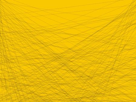 Photo pour Artistic Background Yellow Lines - image libre de droit
