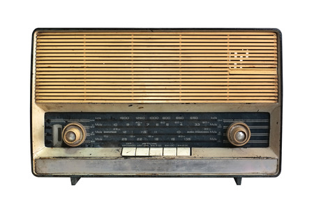 Foto de Retro radio receiver of the last century - Imagen libre de derechos