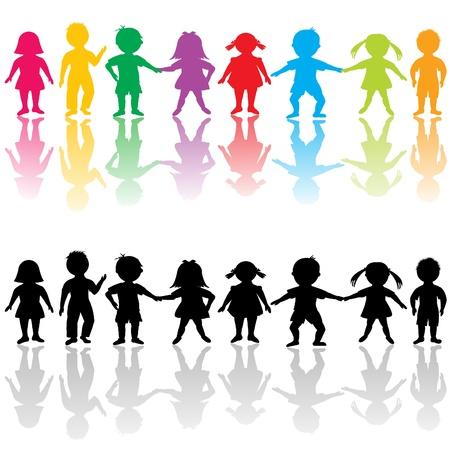 Illustration for Group of children - Royalty Free Image