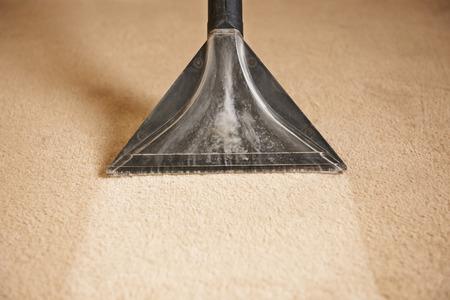 Photo pour Professionally Cleaning Carpets - image libre de droit