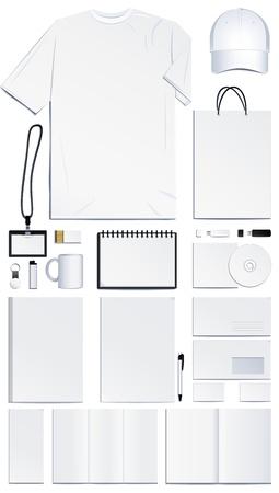Foto de Corporate identity templates. Vector illustration - Imagen libre de derechos