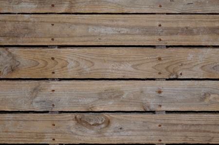 Photo for Aged wooden pallet boards for background or backdrop - Royalty Free Image