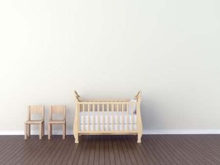 Photo pour Interior of nursery - image libre de droit