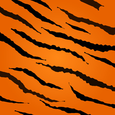 Illustration for Tiger skin pattern - Royalty Free Image