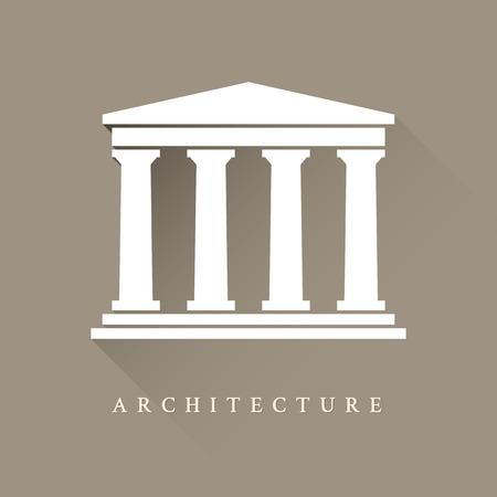 Foto de Architecture greek building symbol - Imagen libre de derechos