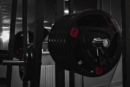 Foto per Heavy barbell with 320kg - Immagine Royalty Free