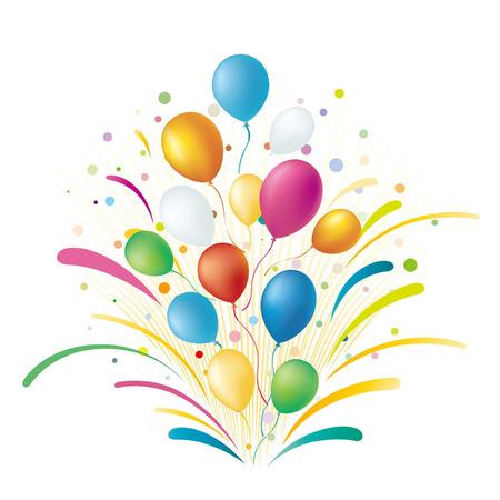 balloons,celebration background