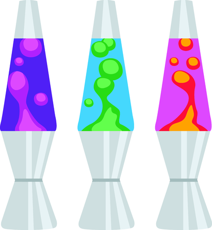 Illustrazione per Get this lava lamp for your next design. - Immagini Royalty Free